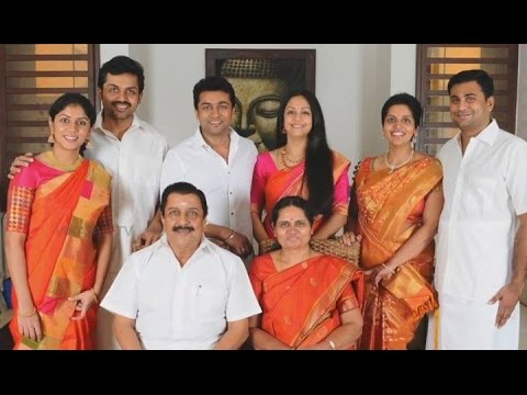 Actor Sivakumar Family Photoshoot - Surya | Karthi | Jyothika - YouTube