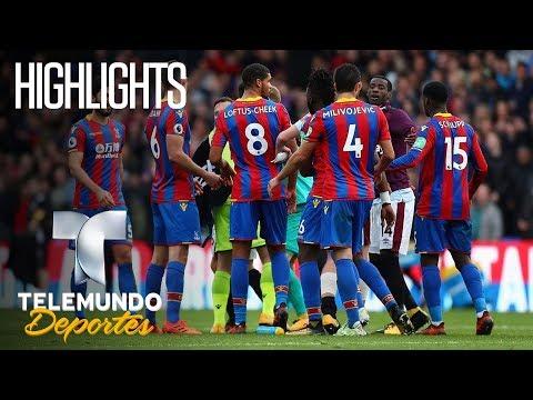 Highlights: Crystal Palace 2 – West Ham United  2   Premier League   Telemundo Deportes