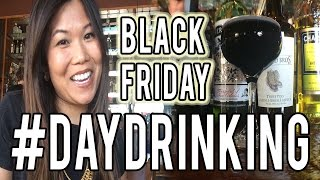 Black Cocktail for Black Friday with Jenn Wong #DAYDRINKING