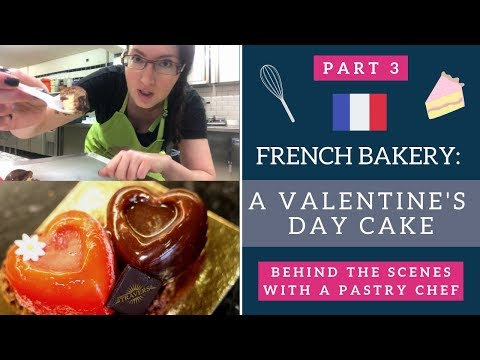 French Bakery: Making A Cake With A Pastry Chef | Living In France