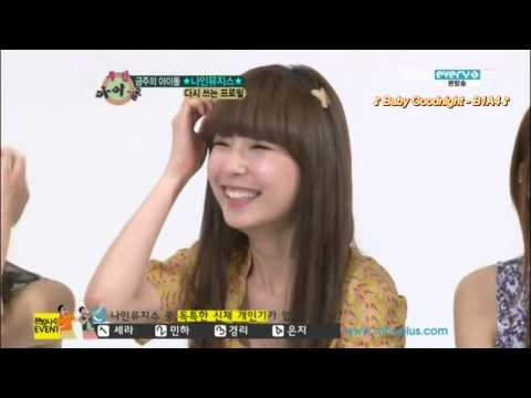[ENG][120606] Nine Muses - Weekly Idol with English subs