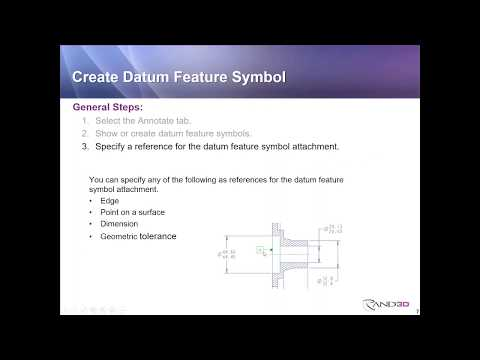 Rand 3D Webcast: Working with Legacy Datums in Creo Parametric 4