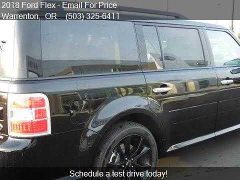 Ford Flex Limited Awd Dr Crossover W Ecoboost For Sale
