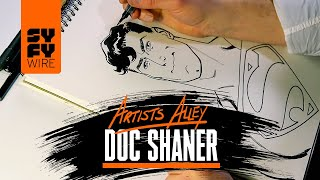 Superman Drawn By Comic Book Artist Doc Shaner | SYFY WIRE