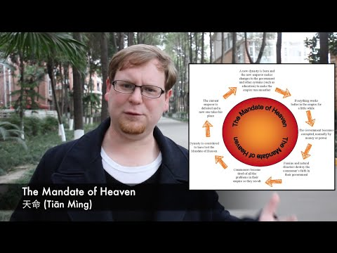 Chinese History Made Easy: The Mandate of Heaven