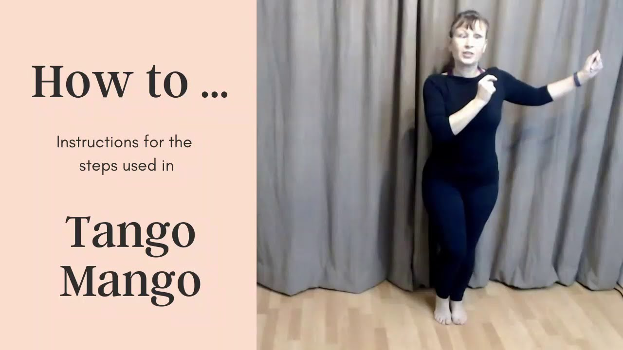 A sample of the Latin Dance Workouts - Tango Mango