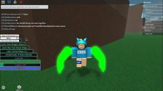 How to change your wing/tail color | Roblox Fairy Tail Fiery Hearts