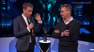 Sony get's called out by Fortnite Dev at Video Game Awards 2017 !!! EPIC !!! Combo Breaker !!!
