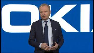 Pekka Lundmark at Nokia Annual General Meeting 2021