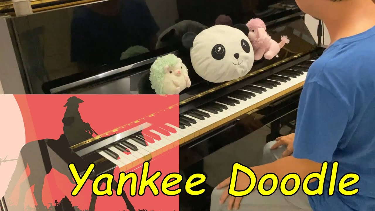 Learn to Play Yankee Doodle   Piano Tutorial for Beginners   Kidzstation Fun Academy Music Class