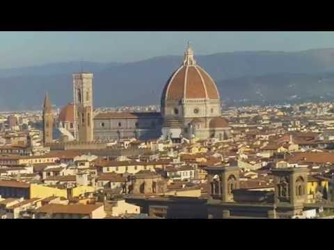 Florence, Italy - Panoramic Views From Michelangelo Square