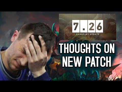 Dota 2: Arteezy - I Hate Patch 7.26 | Evil Geniusu0027 Performance at BTS Pro Series | Donu0027t Deserve Win