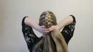 видео Как самой себе заплести французскую косу