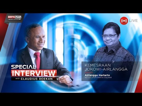 Special Interview with Claudius Boekan: Kemesraan JokowiAirlangga