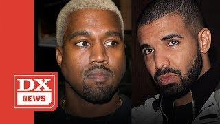 "Drake Wrote The Hook For Kanye West Song ""Yikes"" And Got No Credit"