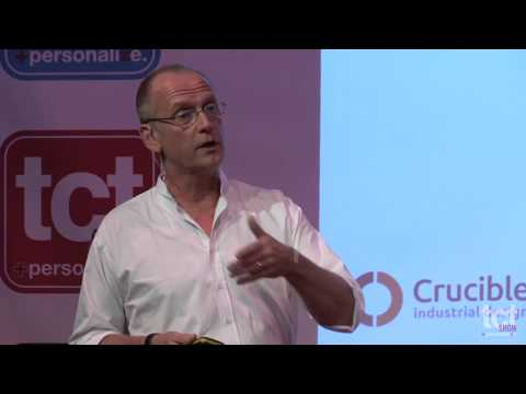"""Crucible Industrial Design's Mike Ayre on """"3D Printing: No Rules or New Rules?"""" at TCT Show 2014"""