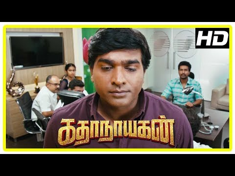 Katha Nayagan Movie Scenes | Vijay Sethupathi Reveals Vishnu Has A Rare Disease | Saranya | Soori