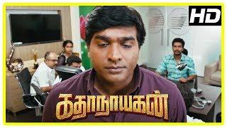 Katha Nayagan Movie Scenes | Vijay Sethupathi reveals Vishnu has a rare disease | Saranya | Soori