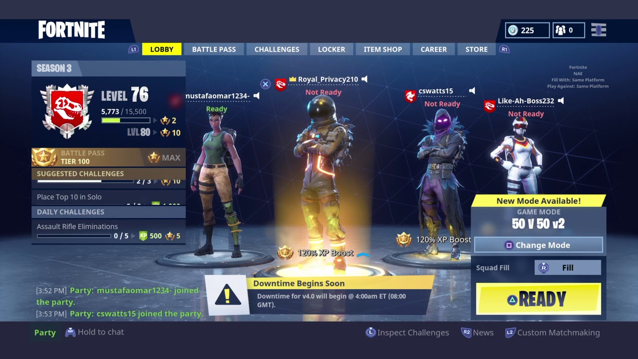 Fortnite How To Change Your Background On Ps4 Youtube