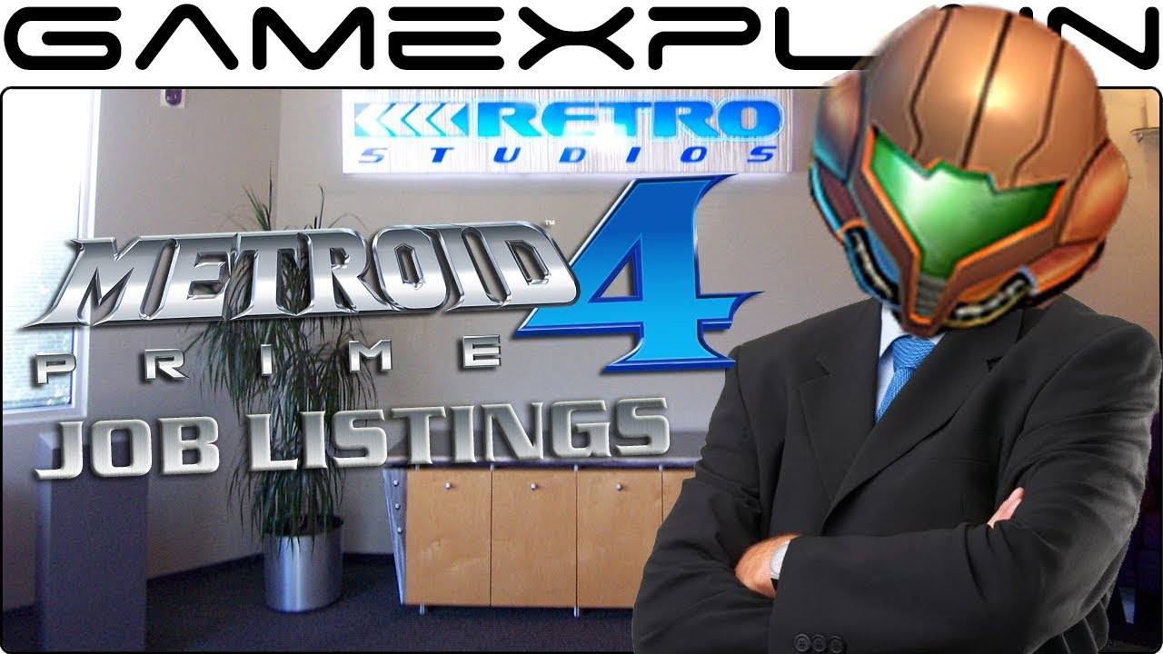 Crucial Job Listings at Retro Studios Suggest Metroid Prime 4 Is Still Very Early In Development