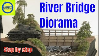 Building a realistic scenery  stream diorama how to step by step