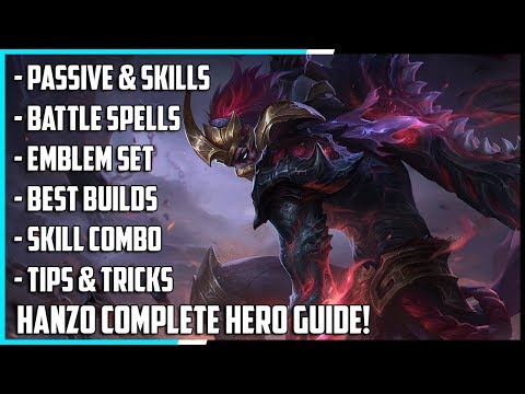 download New Hero Hanzo Complete Guide! Best Build, Spells, Skill Combo, Tips & Tricks | Mobile Legends