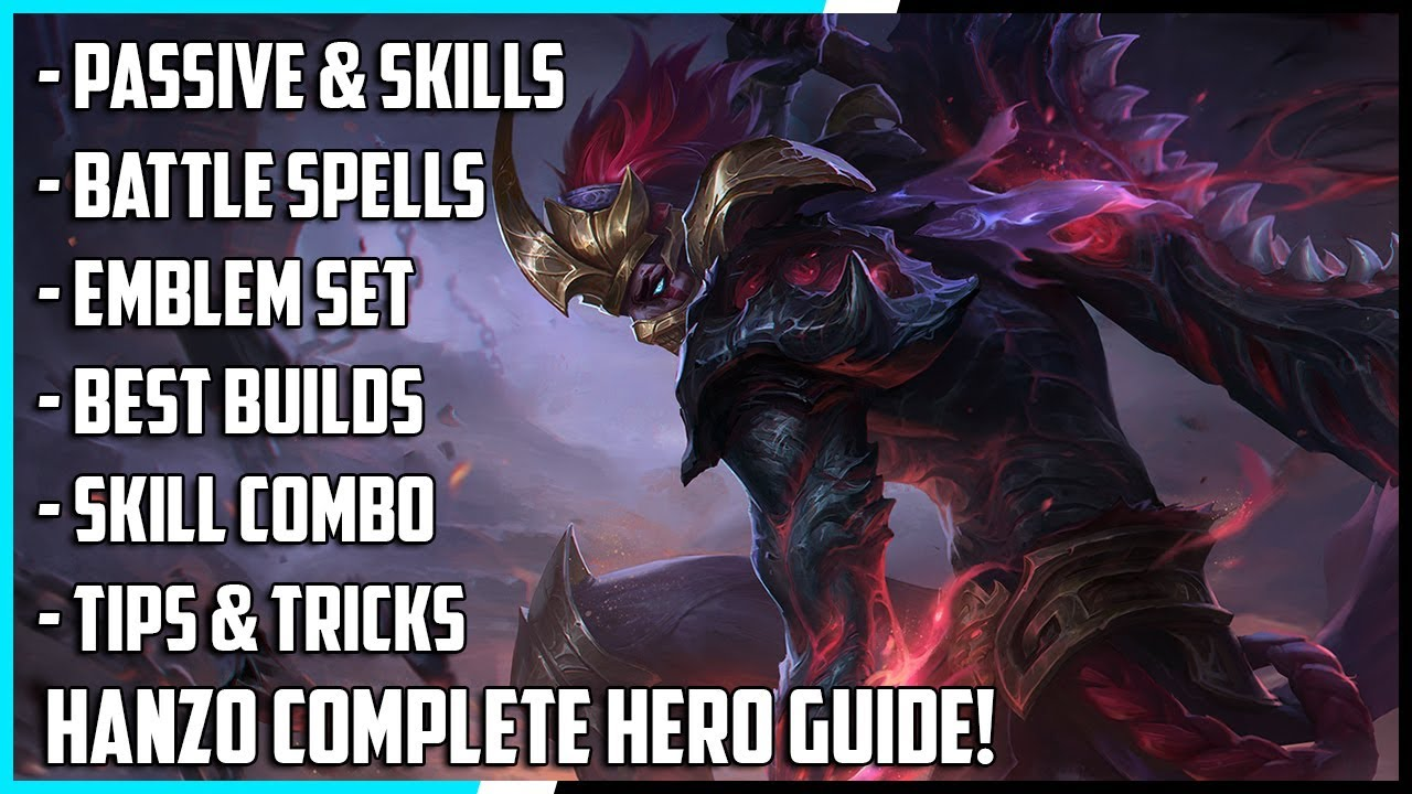 New Hero Hanzo Complete Guide! Best Build, Spells, Skill Combo, Tips & Tricks | Mobile Legends