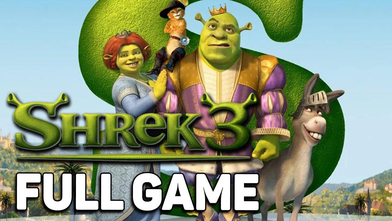 Shrek 3【FULL GAME】| Longplay