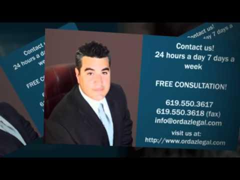 San Diego Personal Injury Attorney|Ordaz Law Juan Ordaz Jr. video