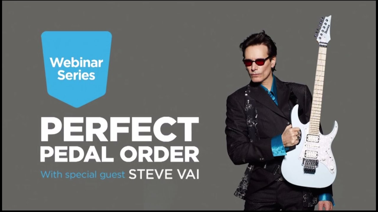 perfect pedal order with steve vai youtube. Black Bedroom Furniture Sets. Home Design Ideas