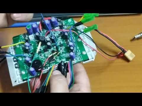 Электросамокат из гироскутера полный привод часть 3