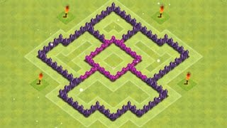 Clash of Clans - TH5 Trophy Base