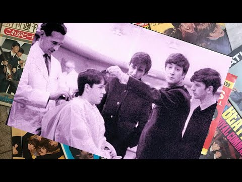 ♫ The Beatles in Horne Brothers barbershop, rpool 1963 photos