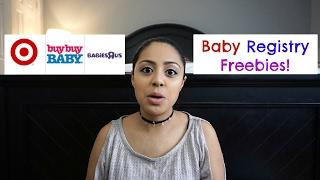 Baby Registry Freebies|Target,BuyBuyBaby & Babies R Us