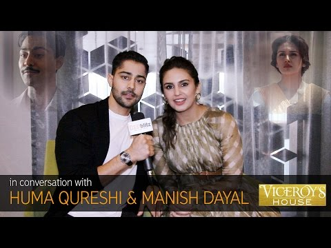 Huma Qureshi & Manish Dayal ~ Viceroy's House  DESIblitz
