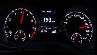 VW Touran 1.2 TSI Acceleration 0-190 Top Speed Test
