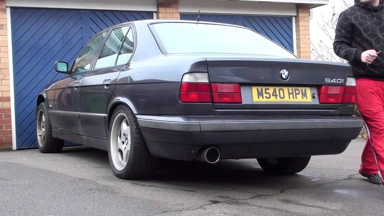 Bmw E34 540i V8 M60b40 Manual Exhaust Sound Check No