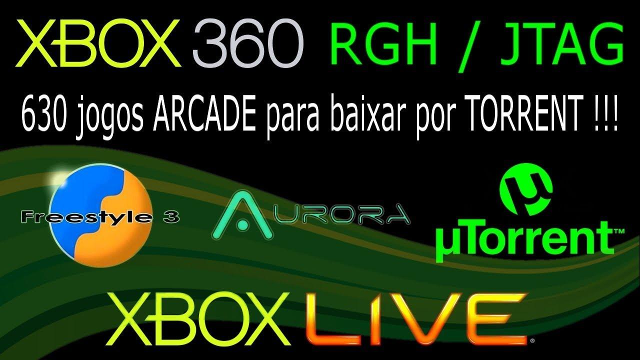 630 Jogos Xbla Arcade Para Xbox 360 Rgh Jtag Freestyle E Aurora