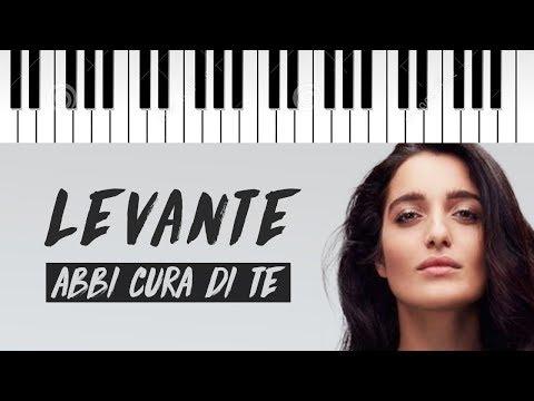 Levante | Abbi Cura Di Te | Piano Cover
