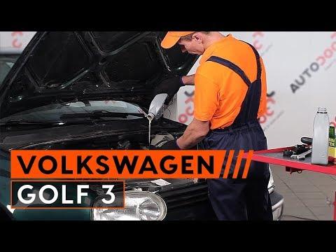 Как да сменим моторно масло и маслен филтър на VW GOLF 3 [ИНСТРУКЦИЯ]