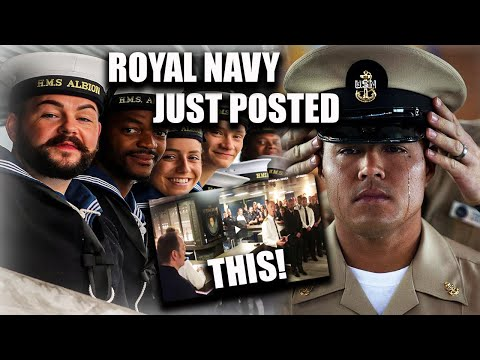 U.S. Navy Gets ROYALLY PISSED At British Navy Over THIS VIDEO