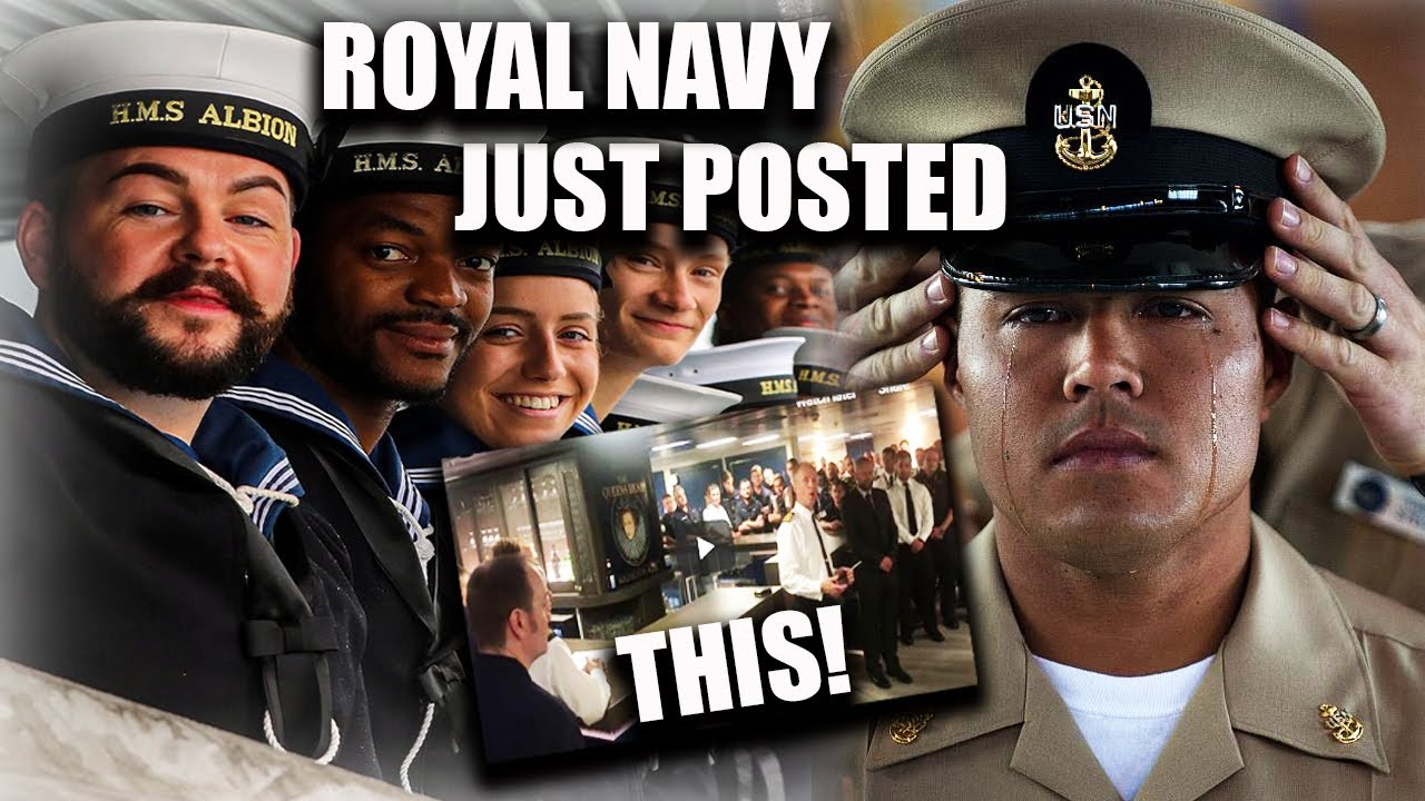 Download U.S. Navy Gets ROYALLY PISSED At British Navy Over THIS VIDEO