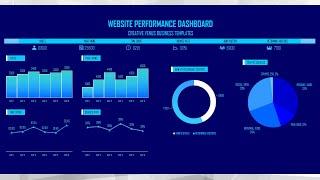 Excel التدريب | كيفية خلق جميل Analytics Dashboard تقرير في Microsoft Excel