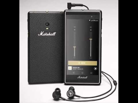 """Marshall Android smartphone """" London"""" to be released – to focus on music and high quality audio!"""