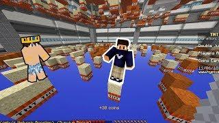 TEK BLOKTAN DÜŞMEMEK! - (Minecraft)