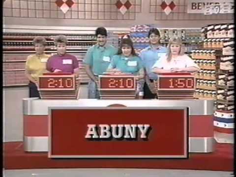Supermarket Sweep 1990 | Barbarana & Barbara Jean vs James & Karin vs Neil & Kathy
