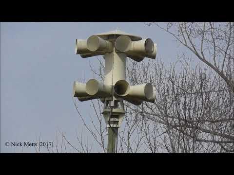 Sentry 16V2TB - Marble Hill, MO (Bollinger County Tornado Siren Test) 12/4/17