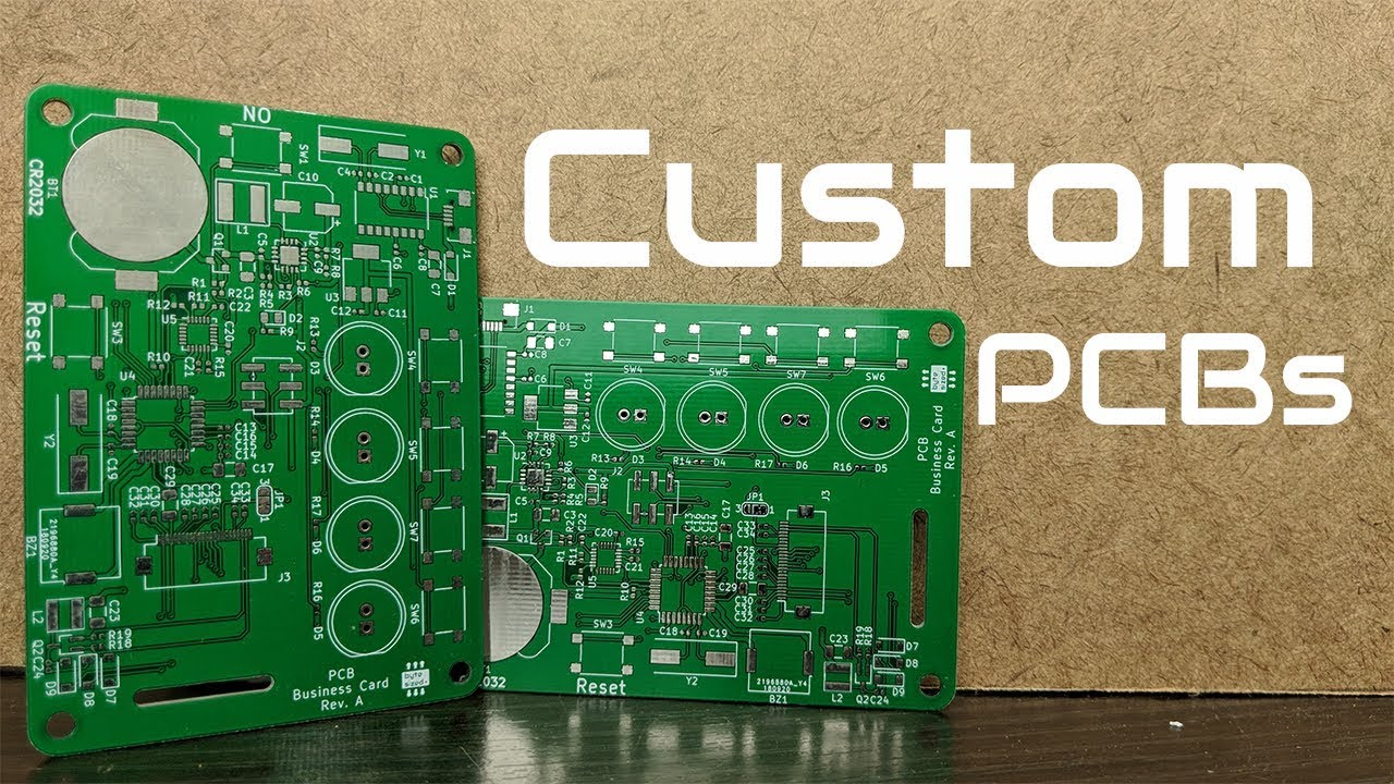 How To Make Your Own Printed Circuit Boards (PCB) - YouTube
