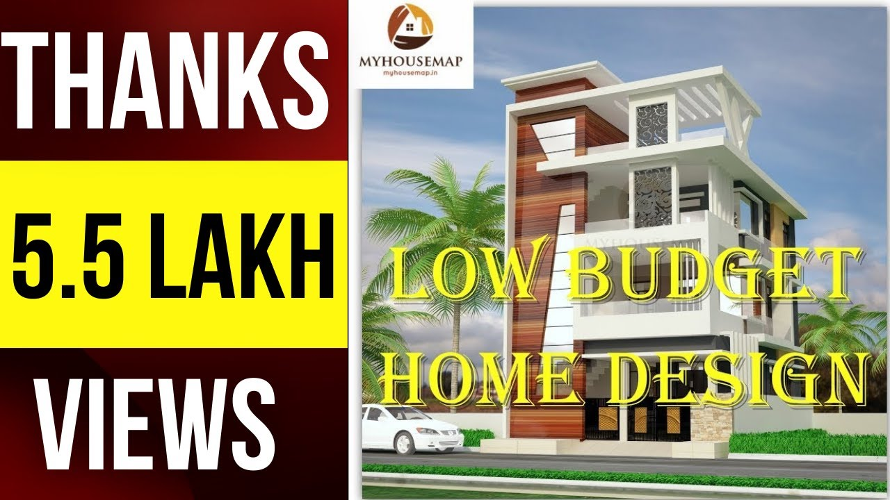 a beautiful 1 000 sq ft house built on a small bud budget home design low budget home designs | Indian small house design ideas