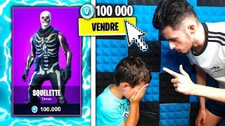 MY PETIT FREE VEND MY SKIN FAVORITE on FORTNITE! It's over... 😪